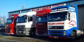 varied lorries
